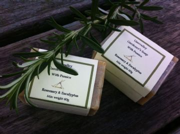 Gardener's Soap with Goatsmilk, Rosemary & Eucalyptus